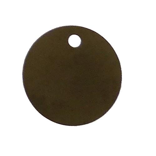 Reperage Inox Aisi 304 Médaillon 32 x 0.8 perforatoin excentrée