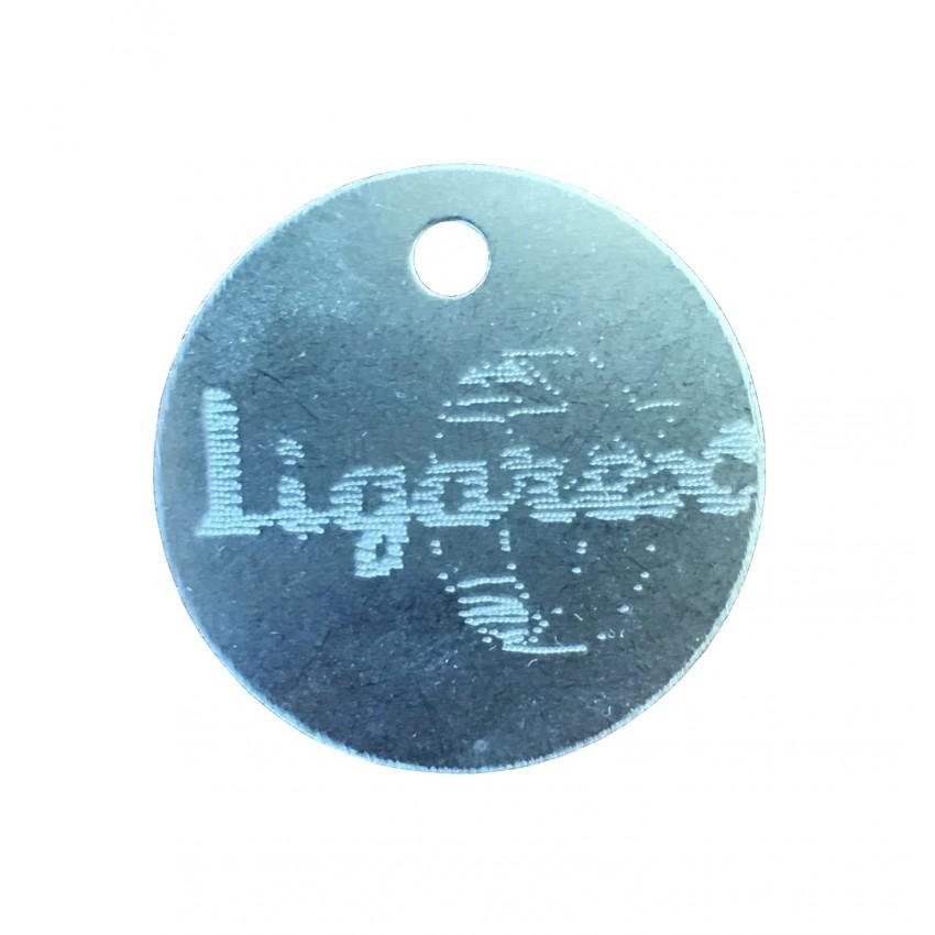 Etiqueta redonda / medallon