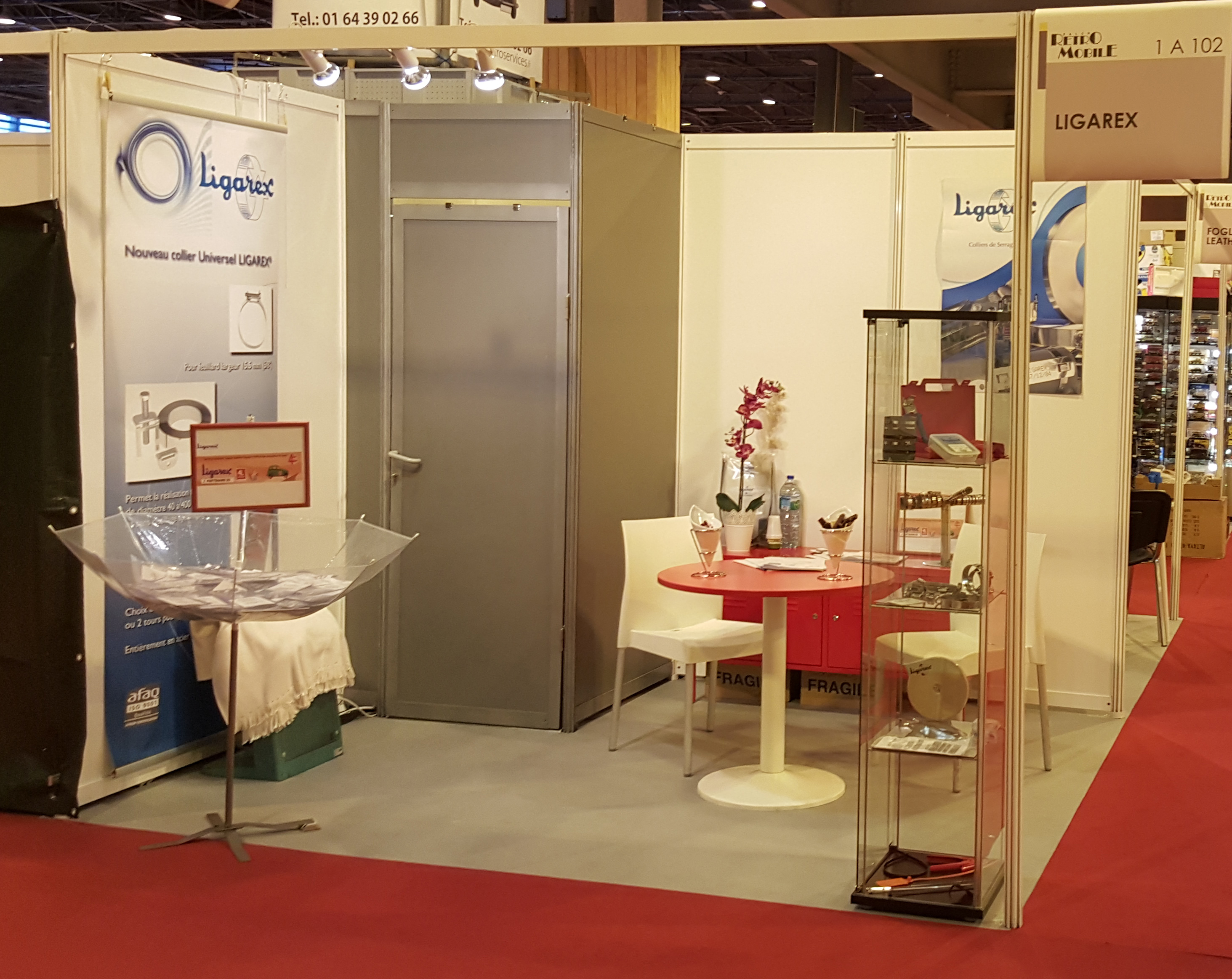 Salon Paris 2016 Ligarex